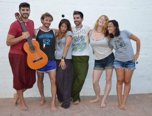 Monitores del campamento de verano en Tarifa, España