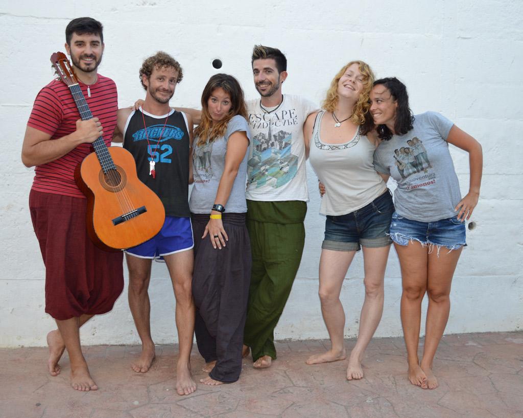 summer group camp leaders, Tarifa Spain