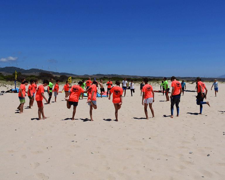 Kitesurf-y-Windsurf, Campamento de verano para adolescentes