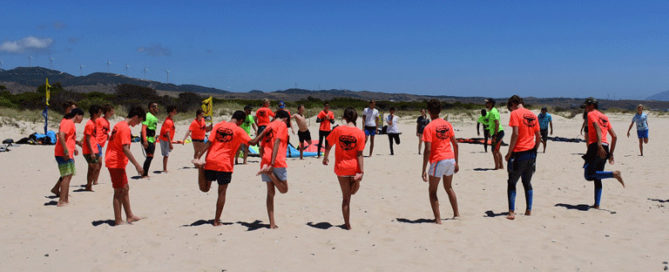 Kitesurfing-and-Windsurfing, teen summer camps in Tarifa, Spain