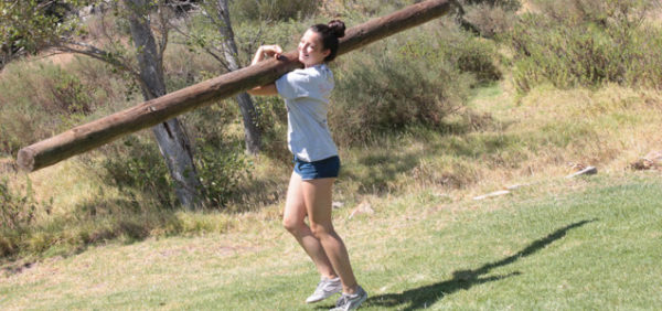 Adventure-camp-Tarifa, lift up a tree without effort