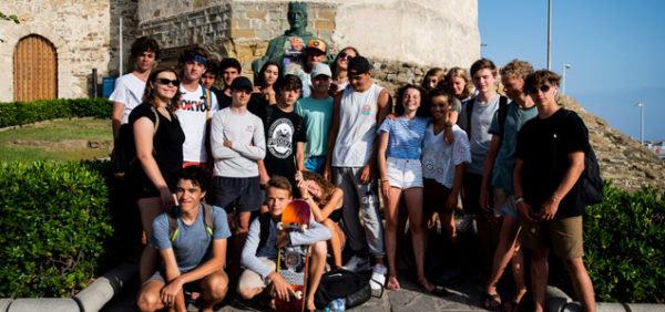 Campamento-bilingue-Tarifa, visita turística en Tarifa
