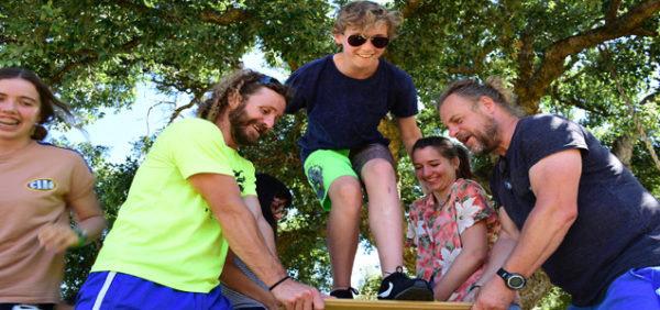 Campamento-de-aventura-para-adolescentes, actividades en la naturaleza