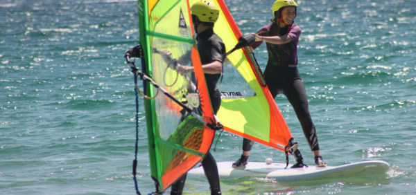 Windsurf-summer-camp, teenagers in Tarifa, Spain
