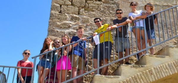 cours de langues pour jeunes, colonie de vacances à Tarifa, Espagne