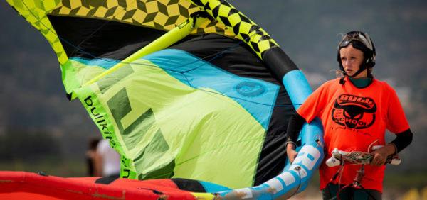 kitesurf camp tarifa, kitesurfing los lances beach