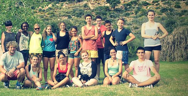 Campamento-para-grupos-escolares, actividad en la naturaleza