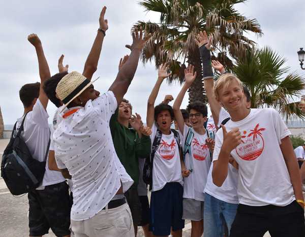 Teen-camp-in-Tarifa-Spain, culture excursion to Cadiz Southern Spain