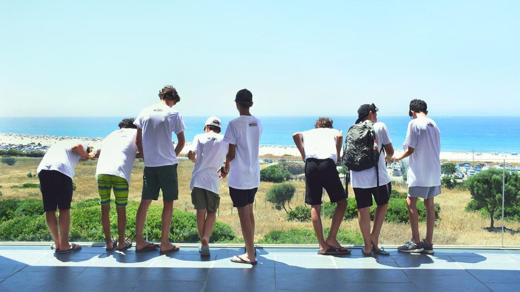 Campamento-de-verano-Tarifa-Andalucia, visitar las ruinas romanas Bolonia