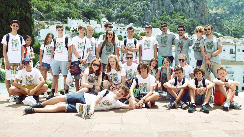 Colonie-internationale-Tarifa, excursion d'une journée