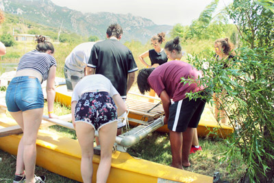 Jugend-Sommercamp-Abenteuer-Programm