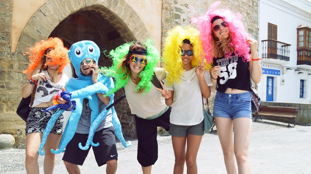 Sejour-adolescents, colonie de vacances Tarifa Espagne
