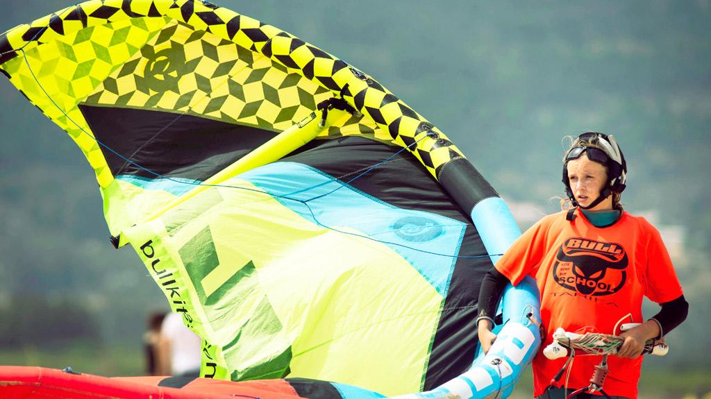 kitesurf-camp-tarifa. playa Los Lances